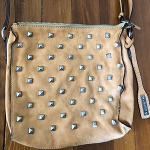 Abro crossbody bag with silver studs